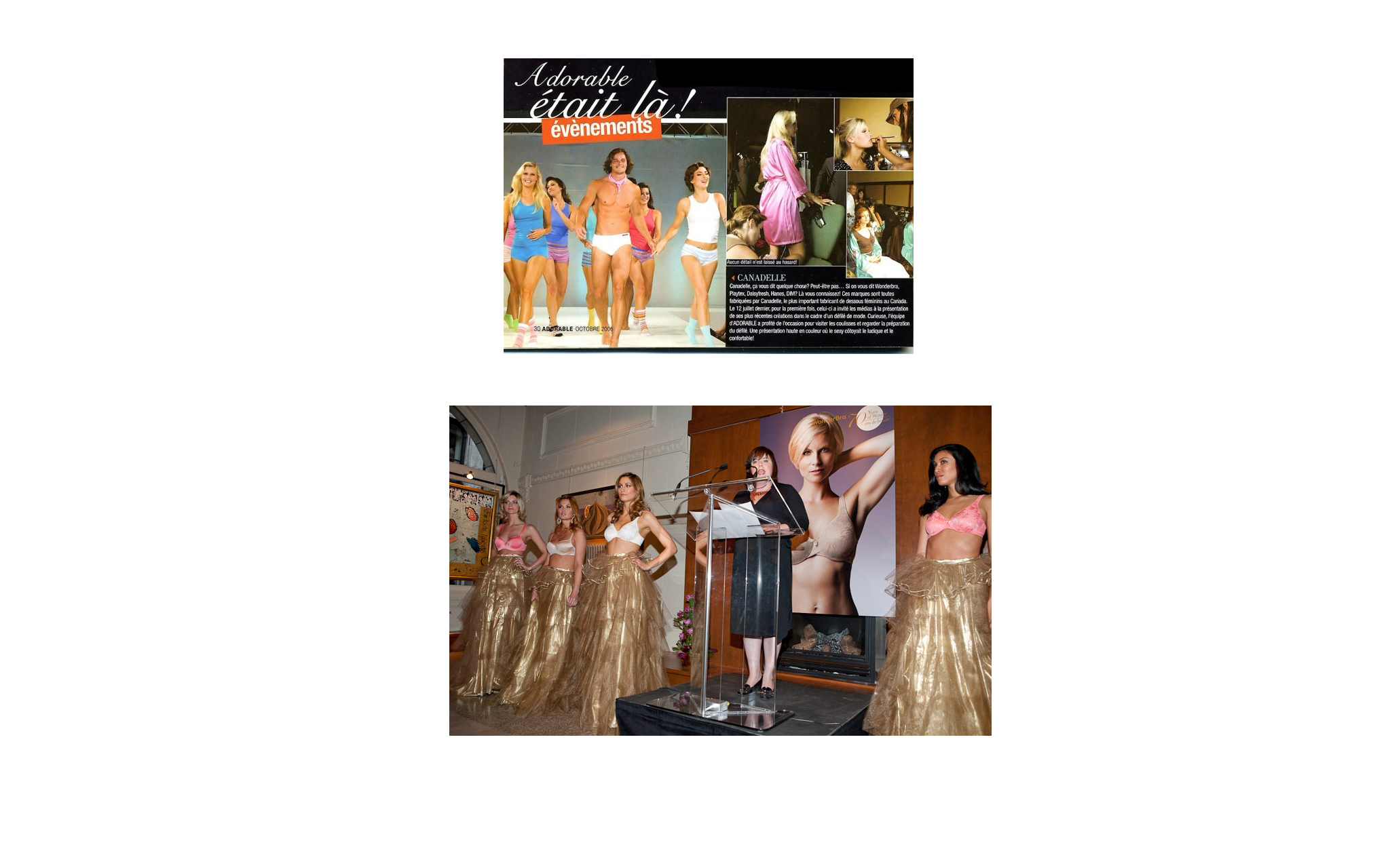 Canadelle Corporate Event & Press Coverage